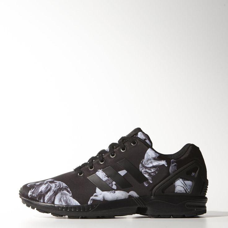 adidas zx flux smoke nero