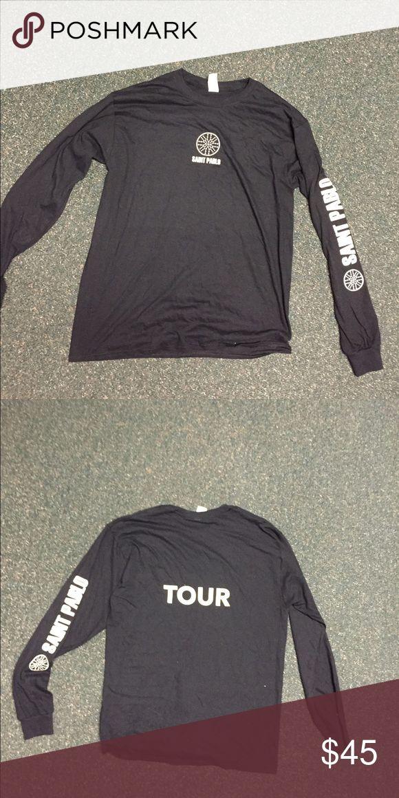 Kanye West Tour Merch Kanye West Saint Pablo Tour Merch Shirts Tees - Long Sleeve