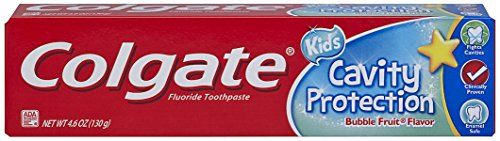 #dental #Colgate Cavity Protection Toothpaste is specially formulated for Kids Ages 6+ to fight cavities with fluoride and protect enamel.