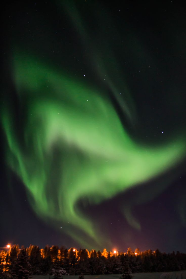 Northern Lights, Inari, Finland