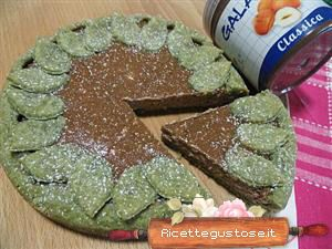 crostata spirulina gianduia