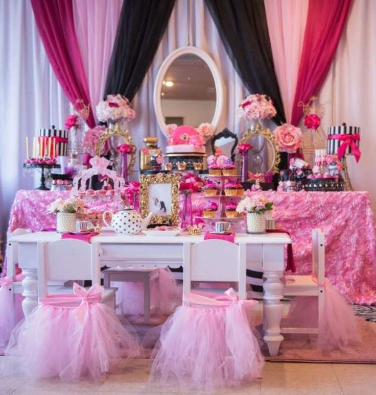 Makeup Gala Boutique/Tea Party Birthday Party Ideas | Photo 1 of 49