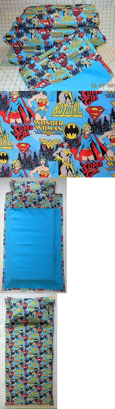 Other Kids and Teens Items 176989: Wonder Woman Super Girl Bat Girl - Kinder Mat Cover Or 2, 3 Or 4 Piece Set -> BUY IT NOW ONLY: $39 on eBay!