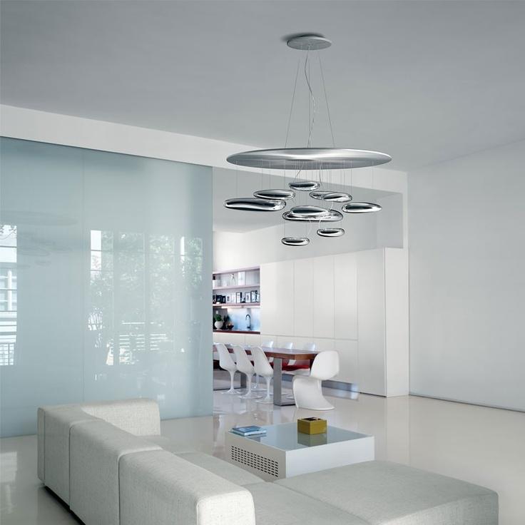 Mercury Sospensione, design by Ross Lovegrove, 2007-2012