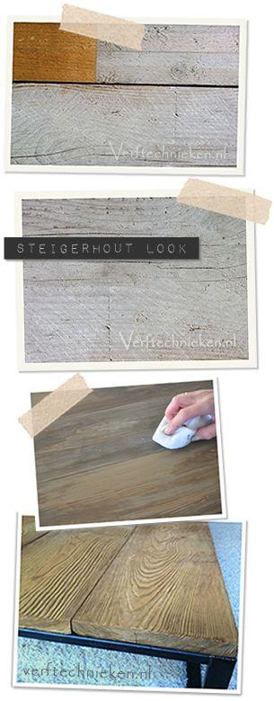 greywash (hout, steigerhout,...)