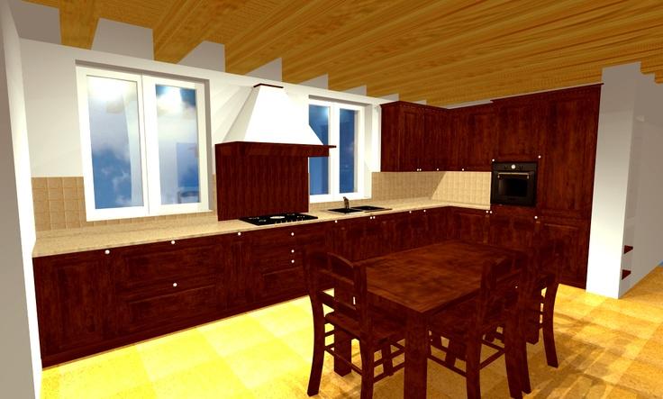 Progetto cucina classica