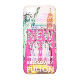 Coque New York bling-bling pour iPhone 5/5S Claire's