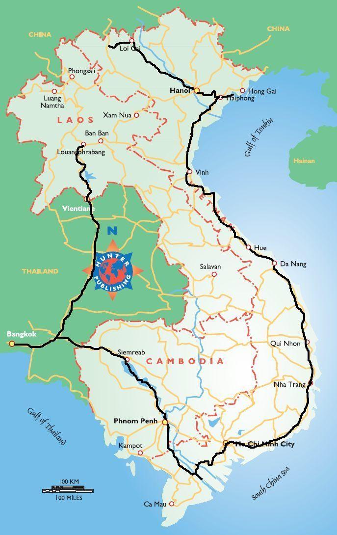 Um roteiro de viagem pelo sudeste asiático para quatro semanas, passando pelo Laos, Cambodja e Vietname. Uma viagem memorável.