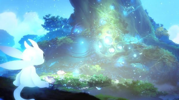 Wallpapers Ori And The Blind Forest Hd Forest Wallpaper Forest Games Environmental Art