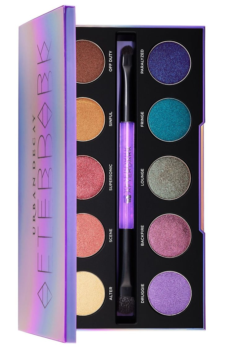Urban Decay Afterdark Eyeshadow Palette Available Now