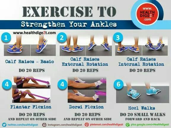 Exercise to strengthen your ankles