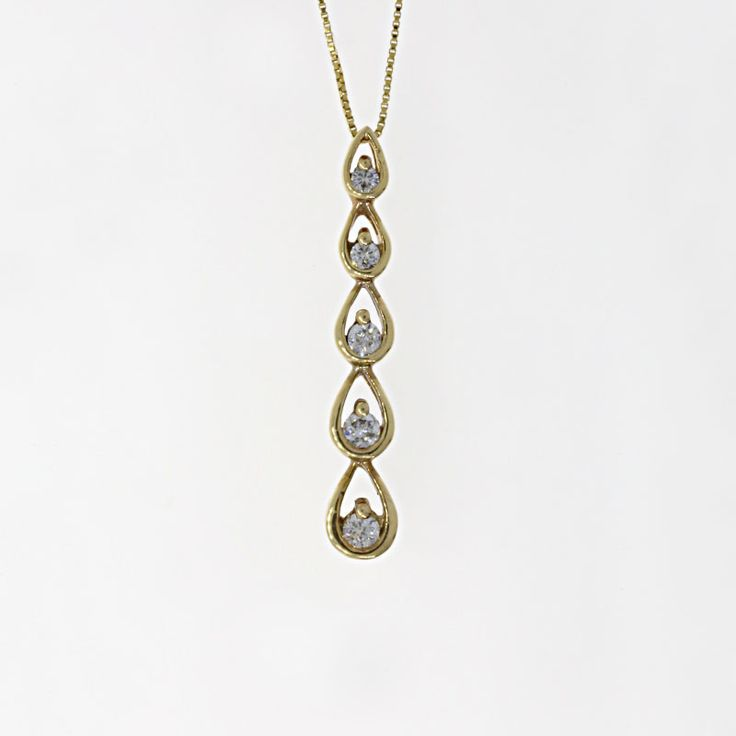 106 best buchroeders necklaces pendants images on pinterest the of 5 round diamonds are set in a yellow gold journey pear shape pendant aloadofball Gallery