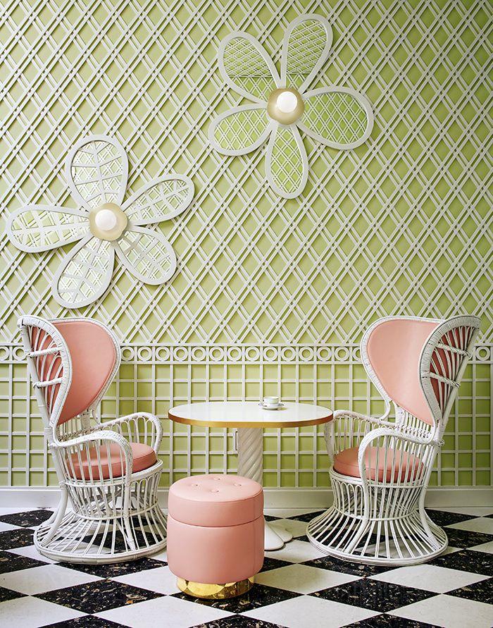 Les nouvelles boutiques signees par des decorateurs : Ladurée Los Angeles par India Mahdavi