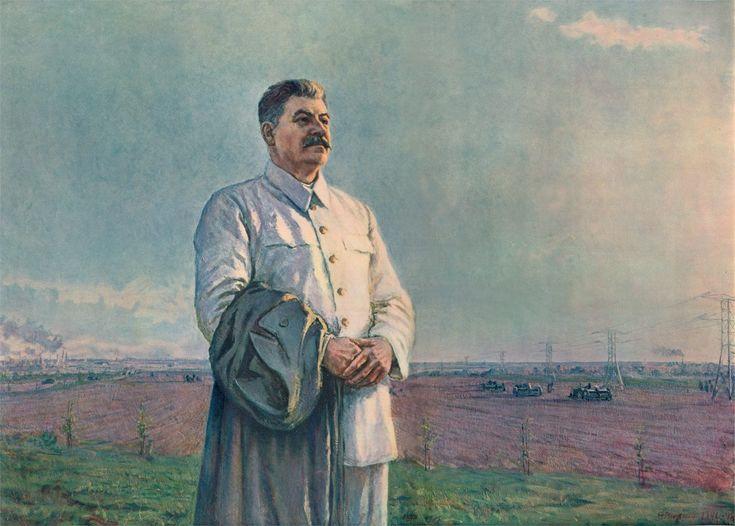 Stalin. Soviet art.