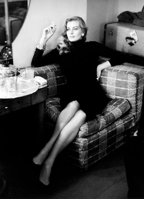 Anita Ekberg, 1955  viaslackseyobrien