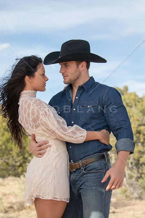 5e09dc36023acb romantic cowboy couple outdoors enjoying some romantic time together |  Cowboys | Couples, Cowboy hats, Cowboys