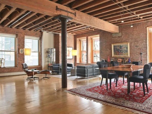 Orlando Bloom Tribeca Loft   Celebrity Homes For Sale   House Beautiful
