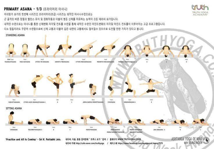 ASHTANGA PRIMARY ASANA By Mr.Hwang Seung Wook
