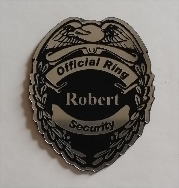 Silver Ring security badge for your ring bearer with magnetic clip is available at $14.95 https://www.etsy.com/listing/266793084/silver-ring-security-badge-for-your-ring?utm_source=mento&utm_medium=api&utm_campaign=api #weddings