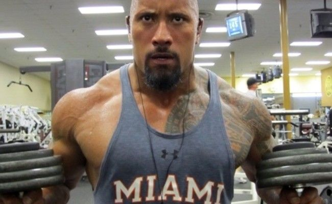 The Rock, Dwayne Johnson's Workout Routine And Diet