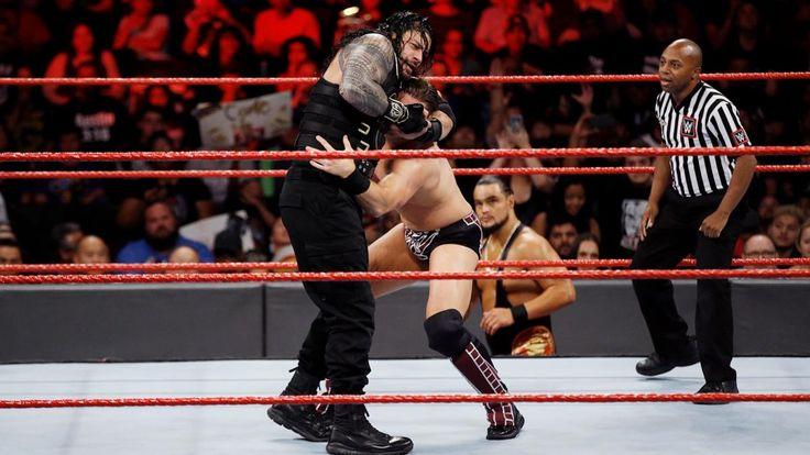 Raw 9/25/17: Roman Reigns vs. The Miz