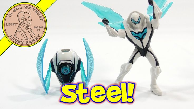 Max Steel 2014 McDonald's Happy Meal Toys & Game App