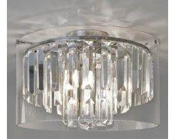 Lampa łazienkowa sufitowa ASINI 7169 ASTRO Wysokość: 220mm Średnica: 350mm Źródło światła: G9 3x33W (w komplecie) Stopień ochrony IP: 44 (Strefa: 2, 3) Wykończenie powierzchni / kolor: polerowany chro ...