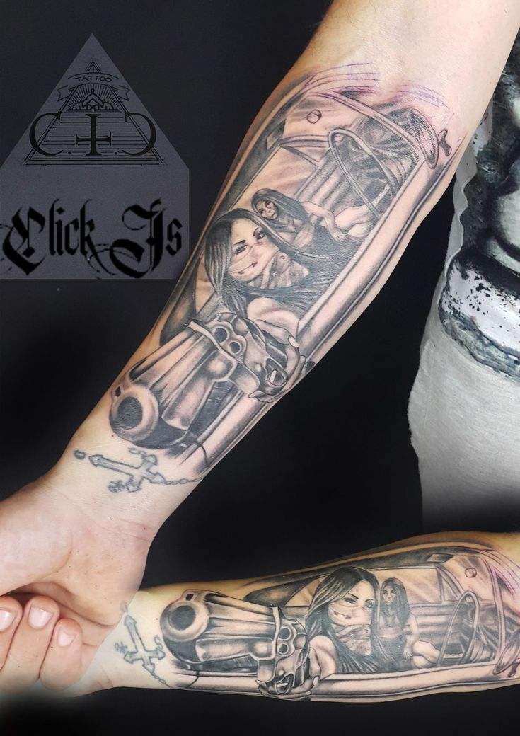 Chicago tattoo by click at holy grail tattoo studio