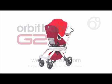 Orbit Baby Gear. Lovin' it.  Especially the car seat hub. The set we got comes with a bassinet (that can be put on either the stroller or the rocker -- it's what Baby slept in the first little while before he transitionned to a floor bed!