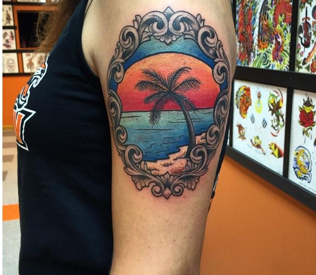 31 best images about superb palm tree tattoo designs and for What does a tree tattoo mean