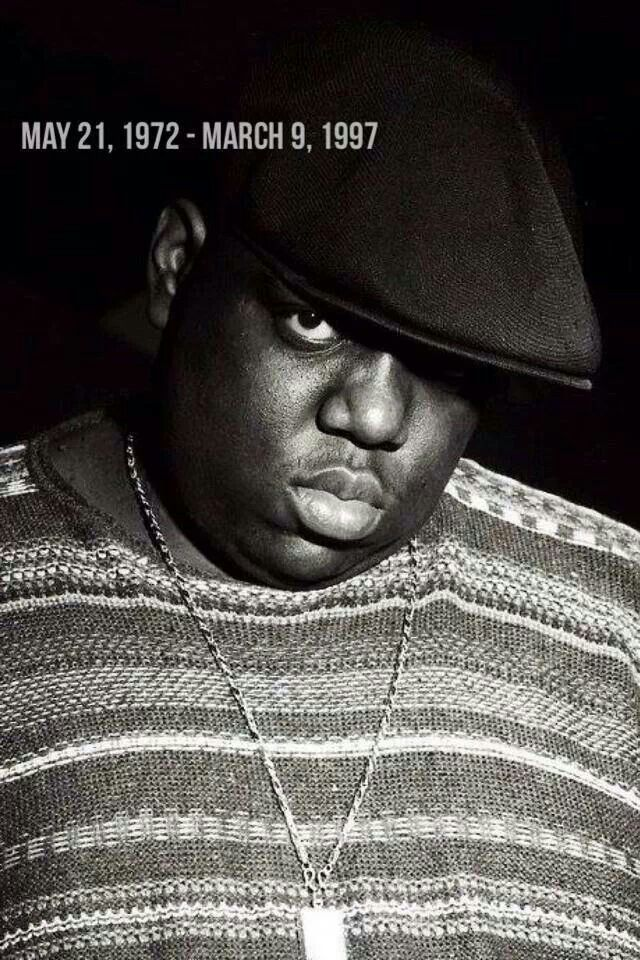 The Notorious BIG - after 2pac this guy was next for me in terms of rap music