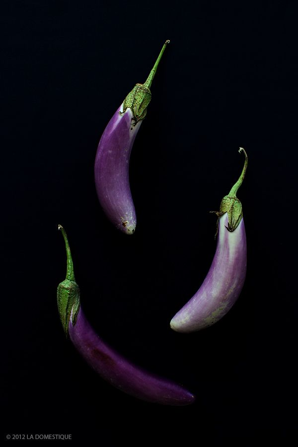 Chinese Eggplant from the Boulder Farmer's Market by La Domestique