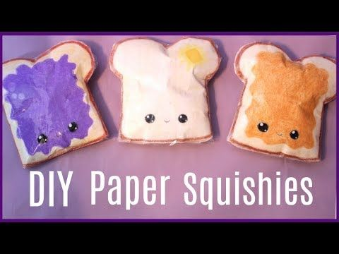 How to make squishies without memory foam or puffy paint