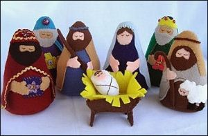 25 DIY Nativity Scenes need to buy 7.-00