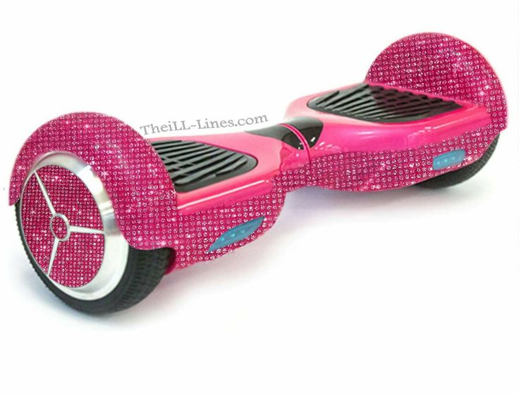 Crystal Segway Bedazzled Segway, Pink Hover Board, Custom : what i ...