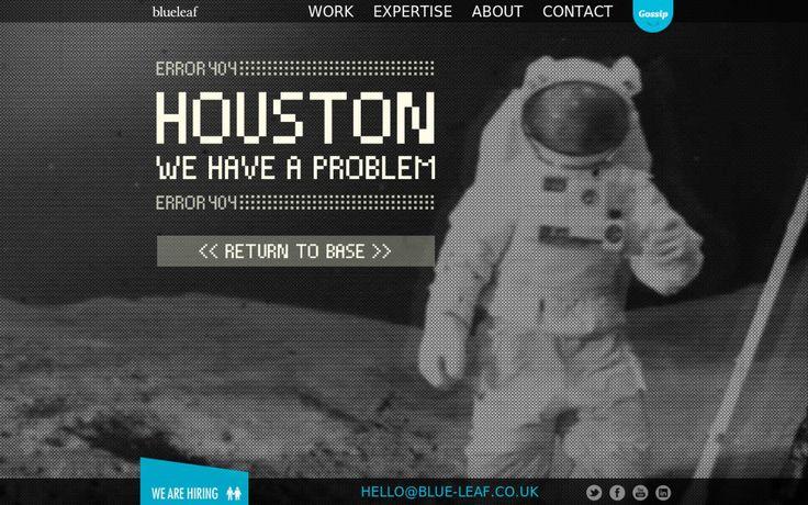 Gelungene Beispiele für 404er-Error-Seiten