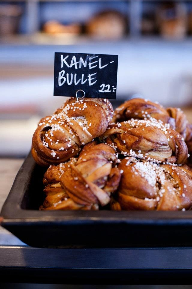 A must for a Swedish fika,cinnamon buns.