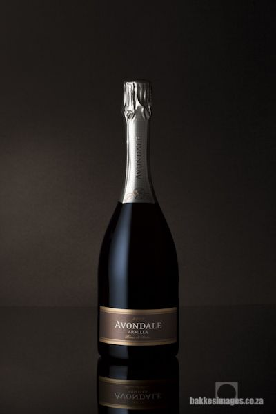 Wine Photography for Marketing and Advertising: Avondale Armilla Blanc De Blanc 2009. www.bakkesimages.co.za
