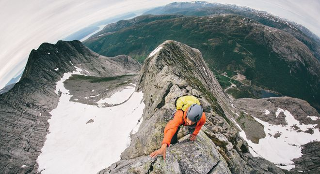 Imagine your ultimate climbing adventure, I told friends when talking about Uskedalen, a valley in southeastern Norway. I had scrutinized photos of immense granite walls for months, dubious there could be something on our diminishing planet so huge and accessible, but still so unexplored. Sprawled two miles along the northeast slopes of the 4,000-foot Ulvanosa massif are four colossal faces up to 2,800 feet tall: Øktertind, Akslo, Geitadal, and Vetletind. I wondered why, when only 10…