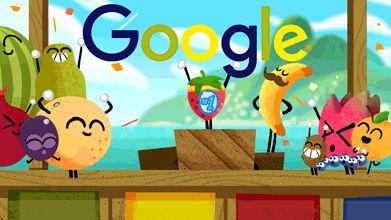 g.co/fruit 2016! لمعرفة المزيد Doodle Fruit Games اليوم السابع عشر من