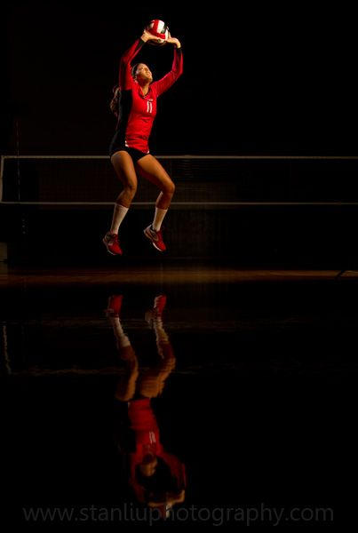 all american volleyball setter Johnna Fouch