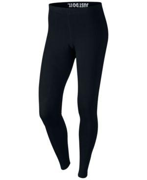 Nike Plus Size Sportswear Dri-fit Logo Leggings - Black 3X