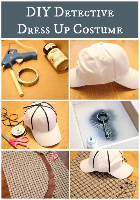 Costume da detective - Toddler Approved!: DIY Detective Dress Up Costume and Hunting Activities