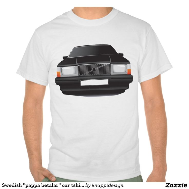 Volvo 740 t-shirt, red.  #volvo #volvo 740 #volvo740 #sweden #sverige #swedish #svenska #ttröja #skjorta #bil #bilar #automobile #740 #80s #90s #classic #zazzle #black #tshirt #tshirts #pappabetalar