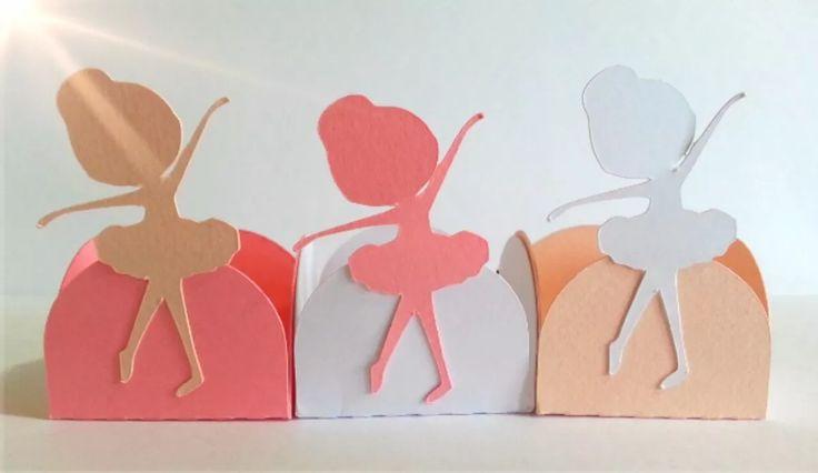 forminhas doces personalizadas - bailarina