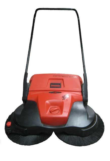 Balai à brosses rotatives Haaga Mastersweeper Turbo à batterie