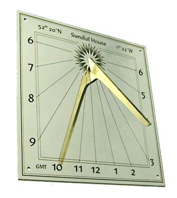 vertical sundial WD2