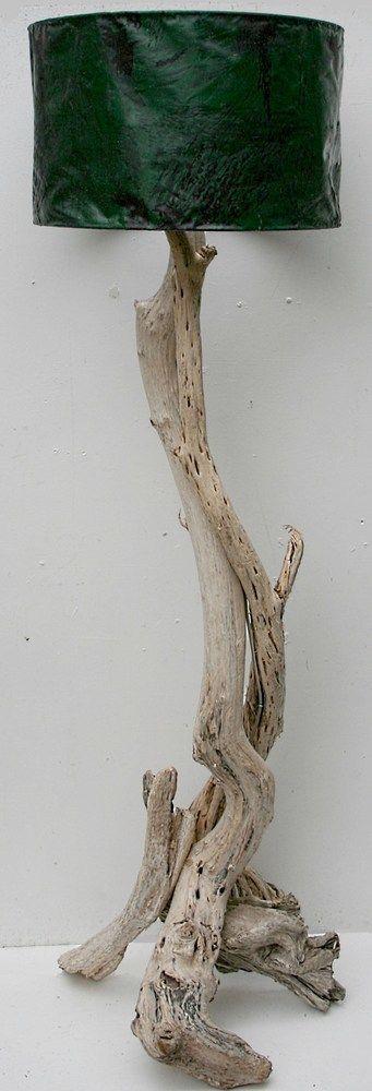 Floor standing Driftwood lamp
