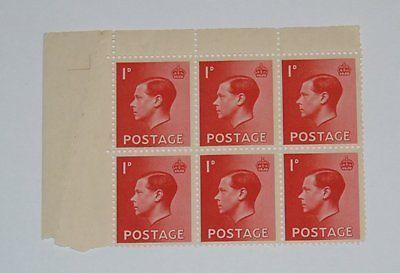 Stamp Pickers Great Britain 1936 Edward VIII MNH Block Lot Sc #231