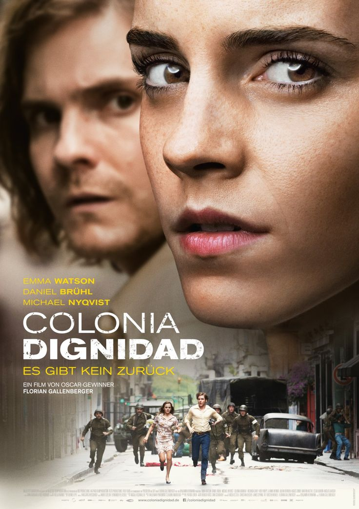 Check out Daniel Brühl, and Emma Watson in first poster for #Colonia…